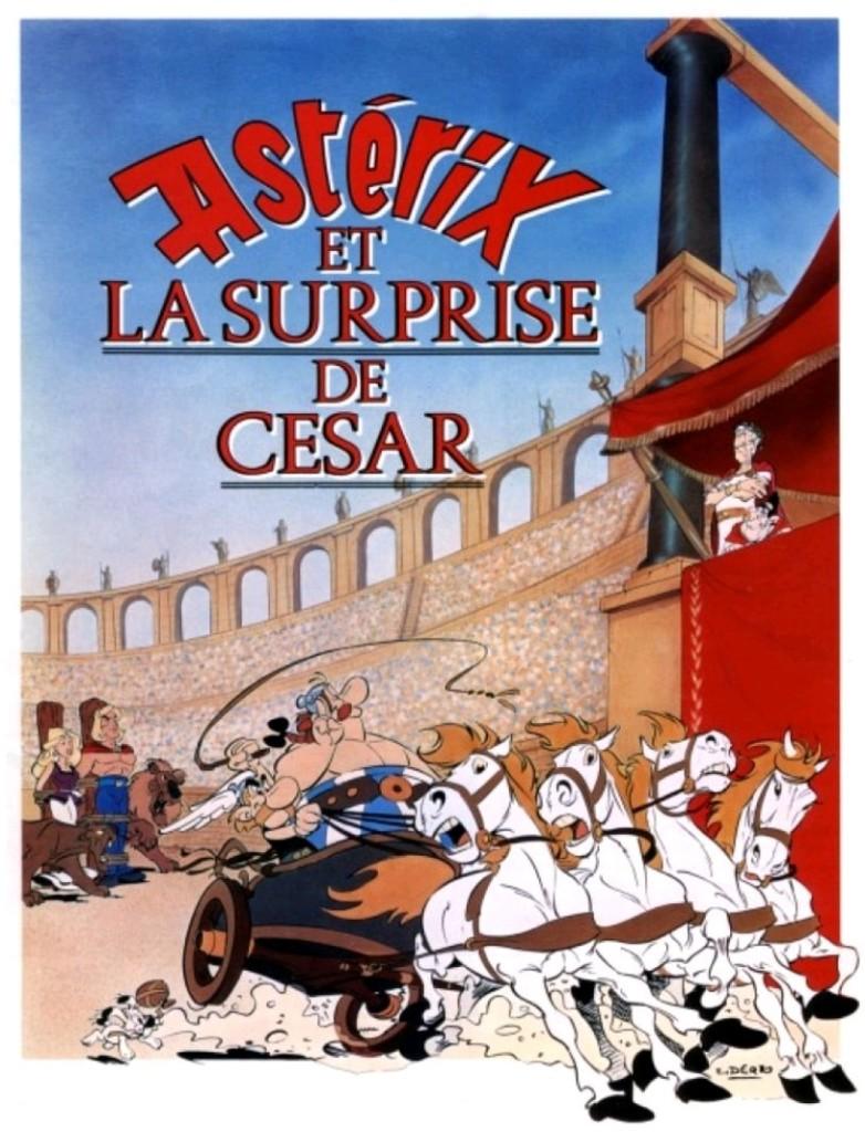 Астерикс против Цезаря / Astérix et la surprise de César (1985): постер