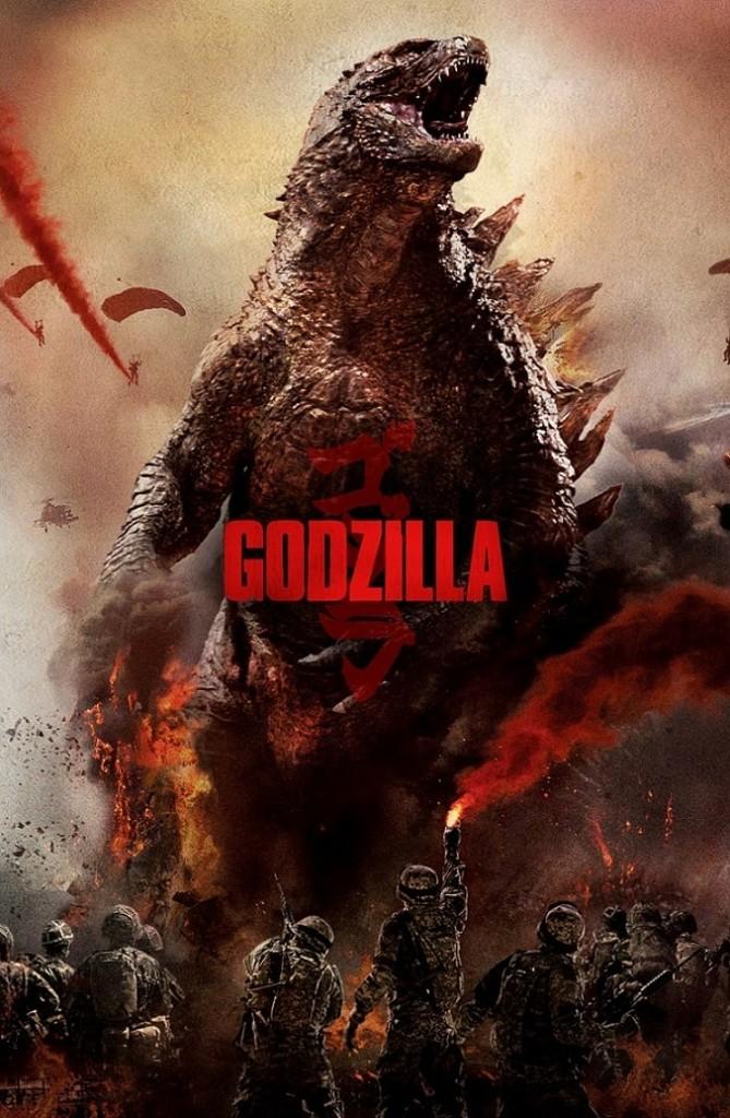 Годзилла / Godzilla / Gojira (2014): постер