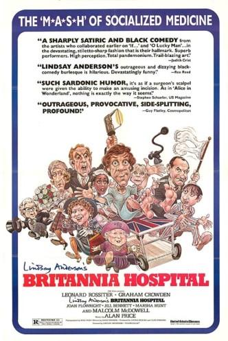 Госпиталь «Британия» / Britannia Hospital (1982): постер