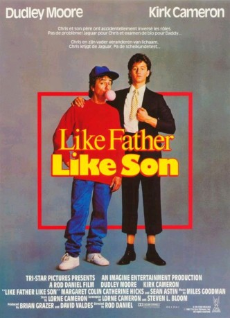Каков отец, таков и сын / Like Father Like Son (1987): постер