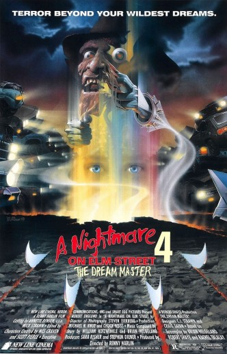 Кошмар на улице Вязов 4: Повелитель сна / A Nightmare on Elm Street 4: The Dream Master (1988): постер