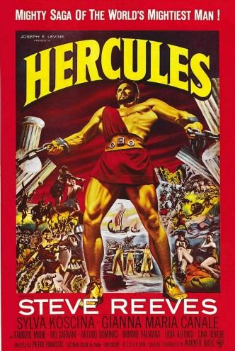 Подвиги Геракла / Le fatiche di Ercole (1958): постер