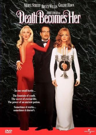 Смерть ей к лицу / Death Becomes Her (1992): постер