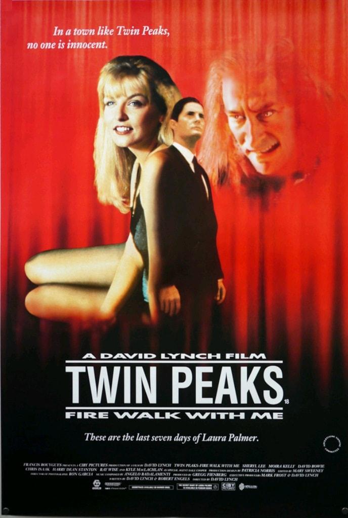 Твин Пикс: Сквозь огонь / Twin Peaks: Fire Walk with Me (1992): постер
