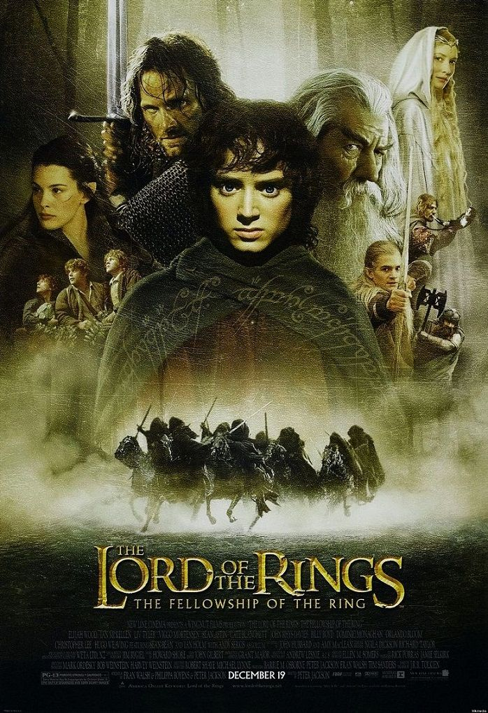Властелин колец: Братство Кольца / The Lord of the Rings: The Fellowship of the Ring (2001): постер