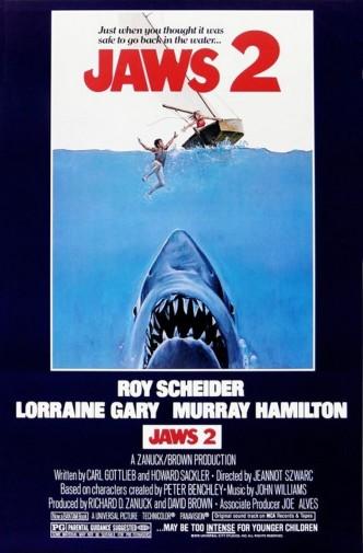 Челюсти 2 / Jaws 2 (1978): постер