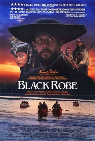 Чёрная сутана / Black Robe (1991): постер