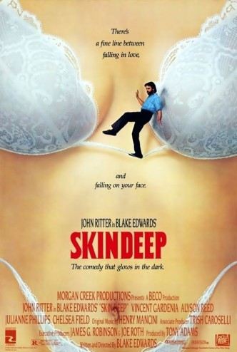 До мозга костей / Skin Deep (1989): постер