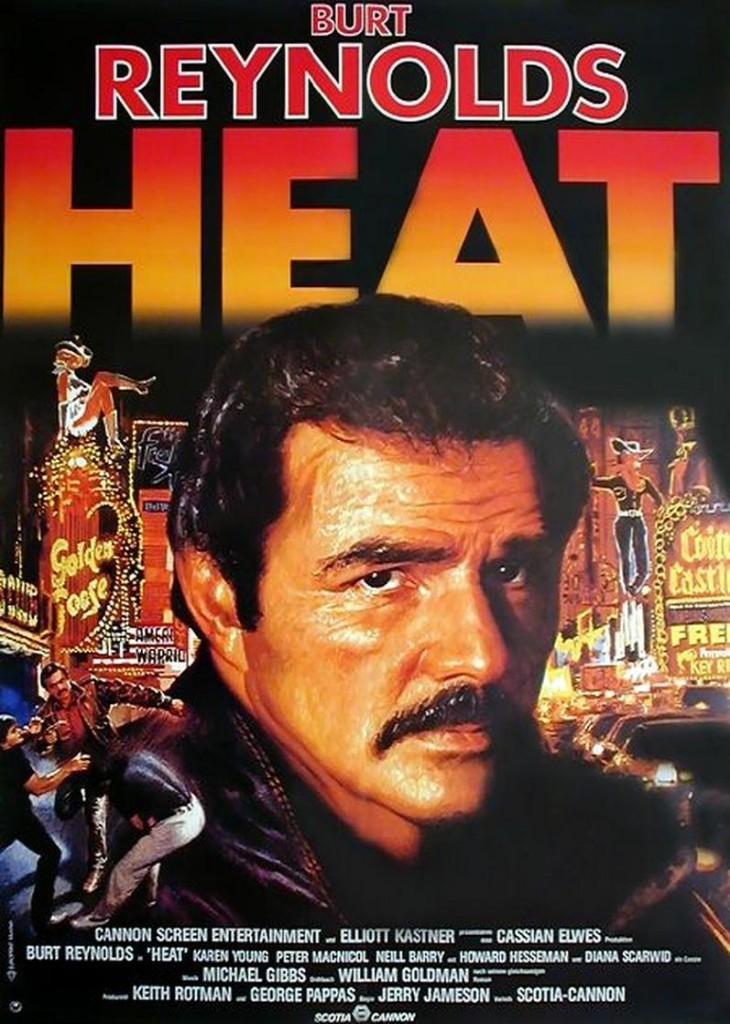 Гнев / Heat (1986): постер