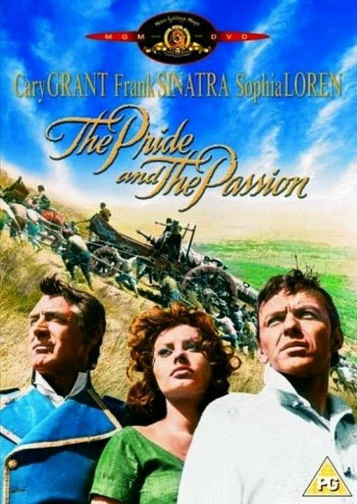 Гордость и страсть / The Pride and the Passion (1957): постер