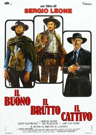 Хороший, плохой, злой / Il buono, il brutto, il cattivo / The Good, the Ugly, the Bad (1966): постер