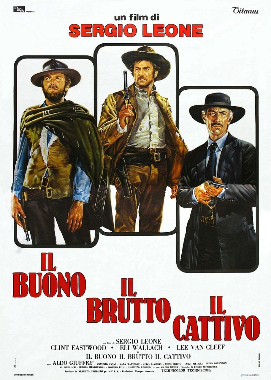 a review of sergio leones movie the good the bad and the ugly