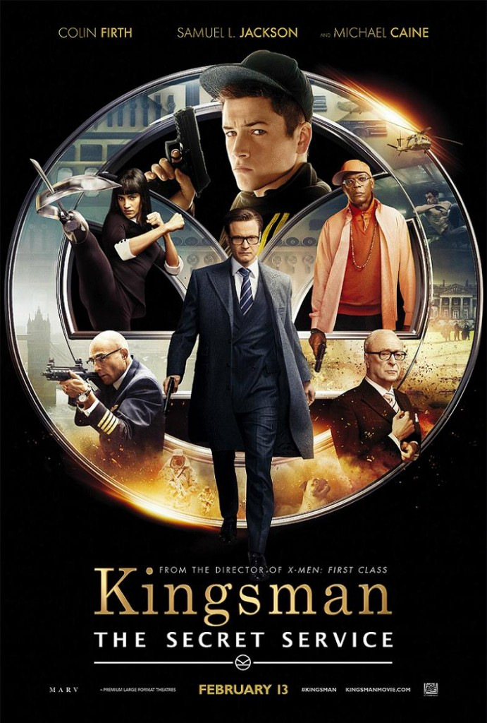 Kingsman: Секретная служба / Kingsman: The Secret Service (2014): постер
