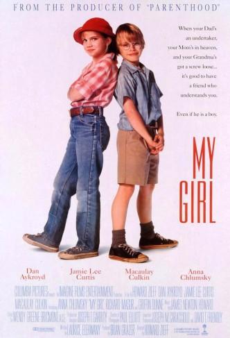 Моя девочка / My Girl (1991): постер