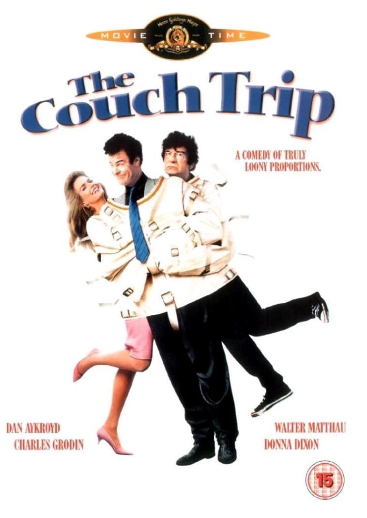 Психодром / The Couch Trip (1988): постер