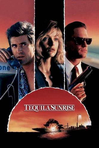 Пьяный рассвет / Tequila Sunrise (1988): постер