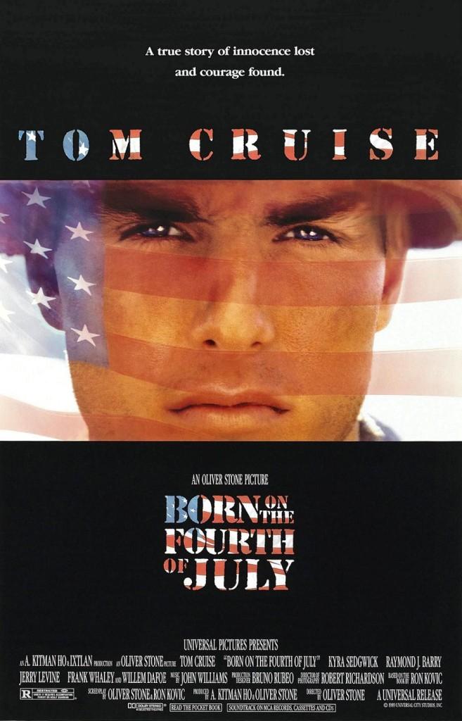 Рождённый четвёртого июля / Born on the Fourth of July (1989): постер