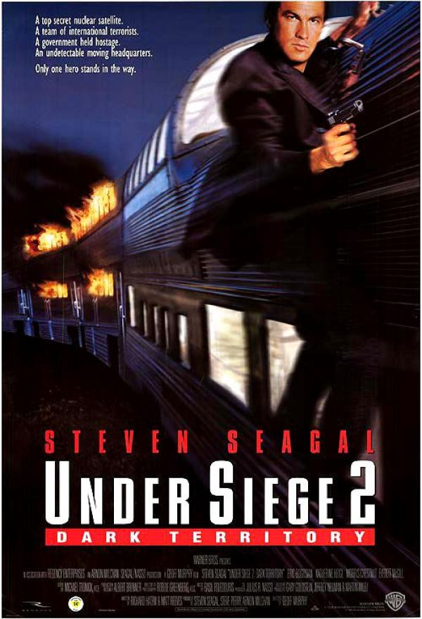 В осаде 2: тёмная территория / Under Siege 2: Dark Territory (1995): постер
