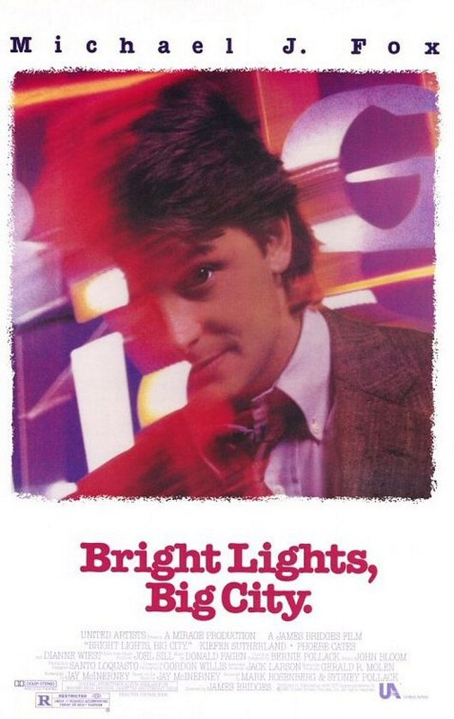 Яркие огни, большой город / Bright Lights, Big City (1988): постер
