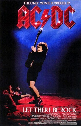 AC/DC: Let There Be Rock / AC/DC: Let There Be Rock (1980): постер