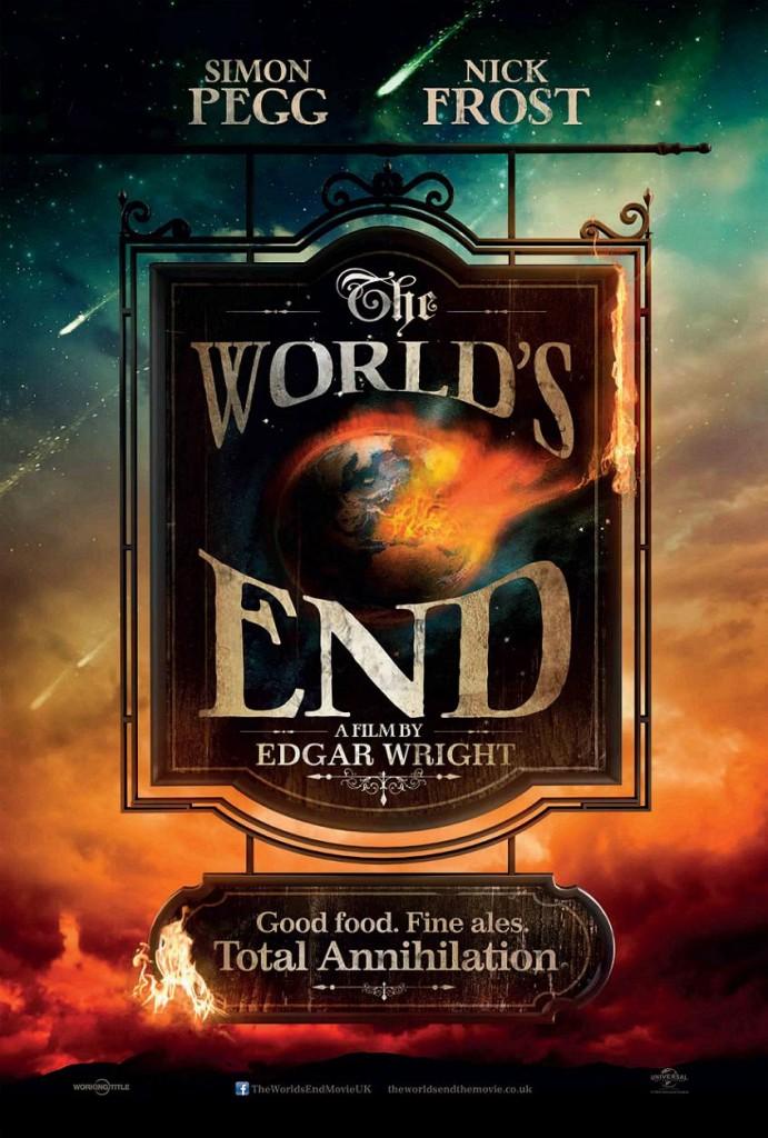 Армагеддец / The World's End (2013): постер