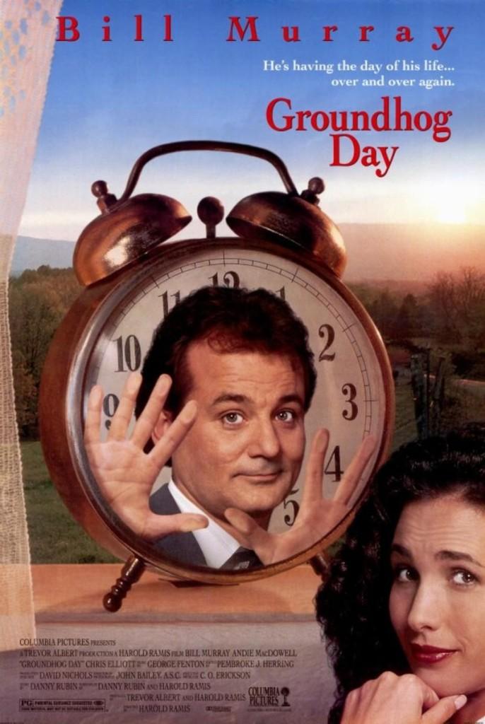 День сурка / Groundhog Day (1993): постер