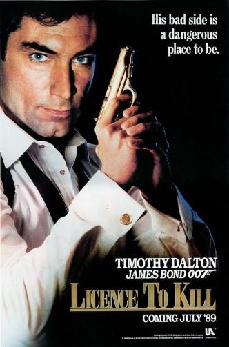Лицензия на убийство / Licence to Kill (1989): постер