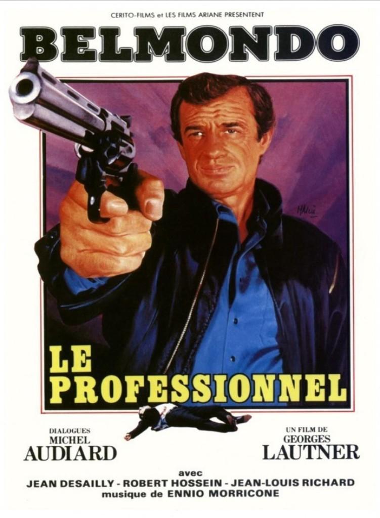 Профессионал / Le professionnel (1981): постер
