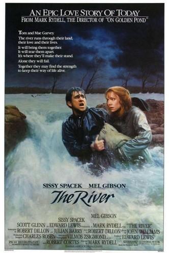 Река / The River (1984): постер