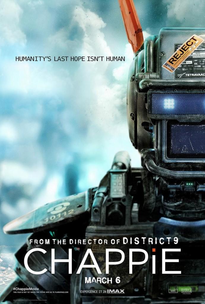 Робот по имени Чаппи / Chappie (2015): постер