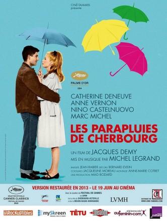 Шербургские зонтики / Les parapluies de Cherbourg / Die Regenschirme von Cherbourg (1964): постер