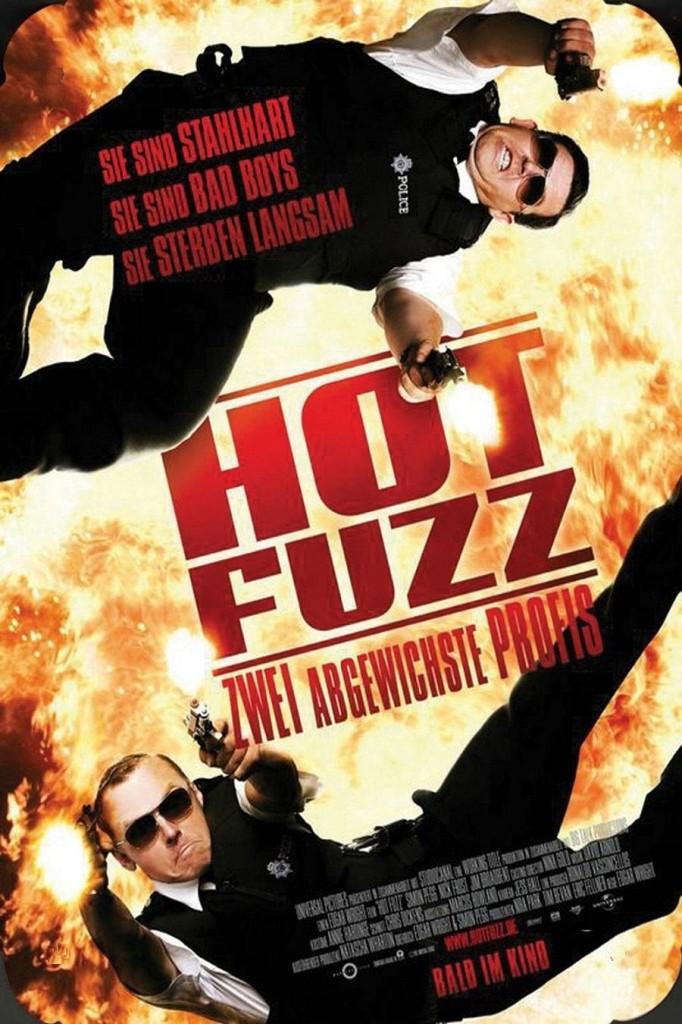 Типа крутые легавые / Hot Fuzz (2007): постер