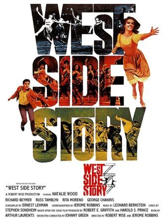 Вестсайдская история / West Side Story (1961): постер