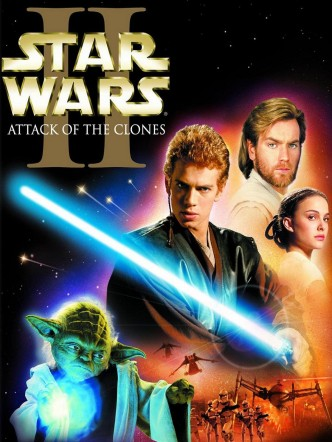 Звёздные войны. Эпизод II: Атака клонов / Star Wars: Episode II – Attack of the Clones (2002): постер