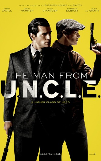 Агенты А.Н.К.Л. / The Man from U.N.C.L.E. (2015): постер