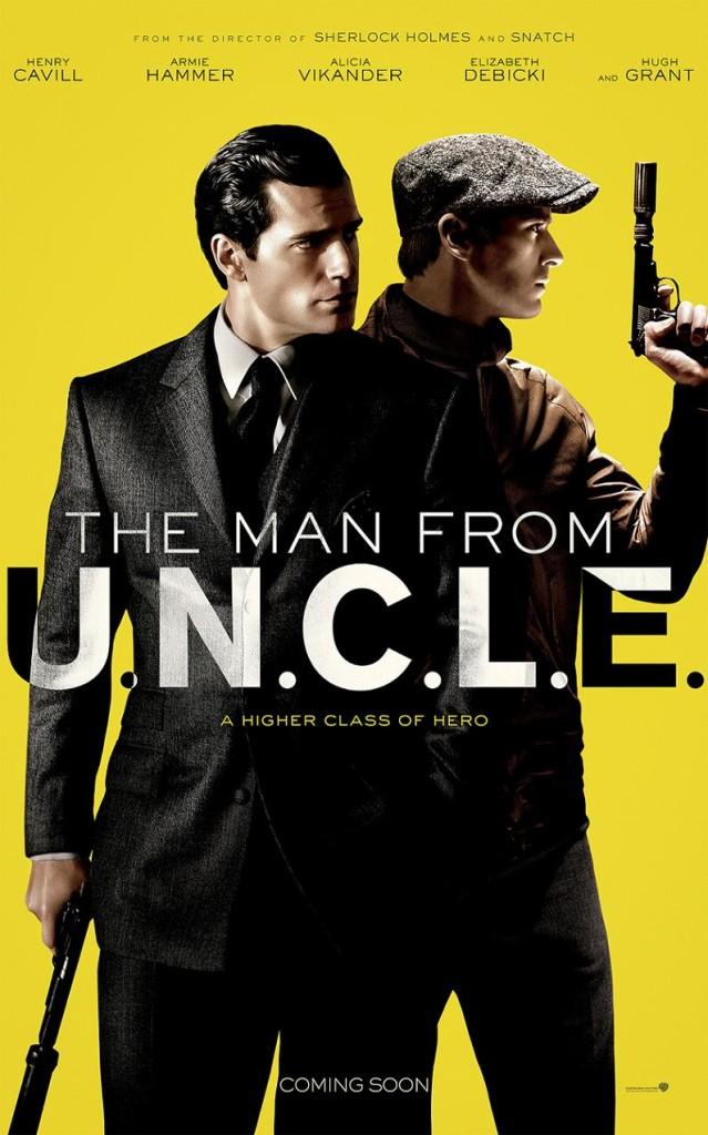 Агенты А.Н.К.Л. / The Man from U.N.C.L.E. (2015): постер