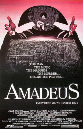 Амадей / Amadeus (1984): постер