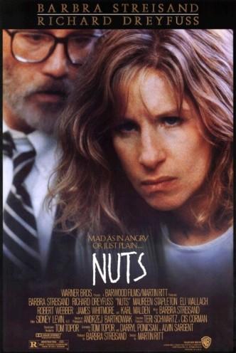 Чокнутые / Nuts (1987): постер