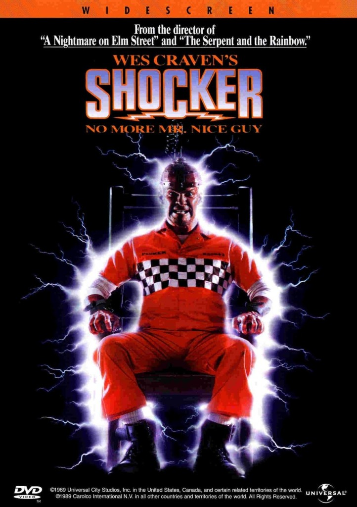 Электрошок / Shocker (1989): постер