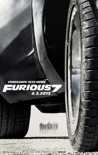 Форсаж 7 / Furious Seven (2015): постер