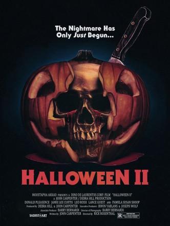 Хэллоуин 2 / Halloween II (1981): постер