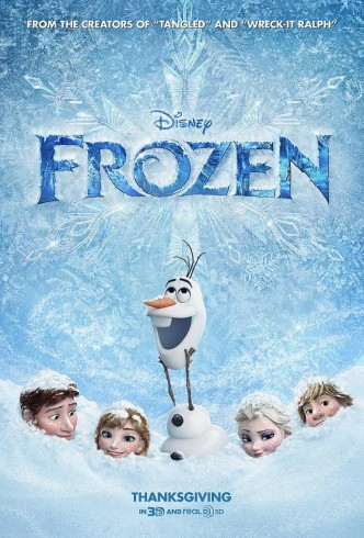 Холодное сердце / Frozen (2013): постер