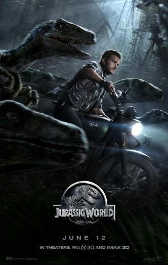 Мир юрского периода / Jurassic World (2015): постер