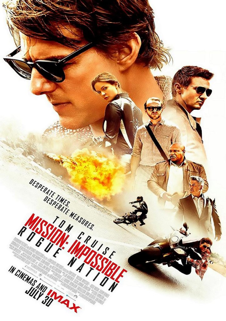 Миссия невыполнима: Племя изгоев / Mission: Impossible – Rogue Nation (2015): постер