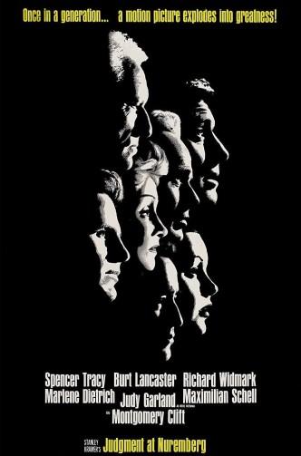 Нюрнбергский процесс / Judgment at Nuremberg (1961): постер
