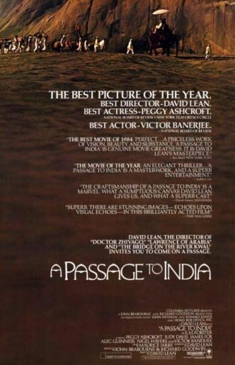 Поездка в Индию / A Passage to India (1984): постер