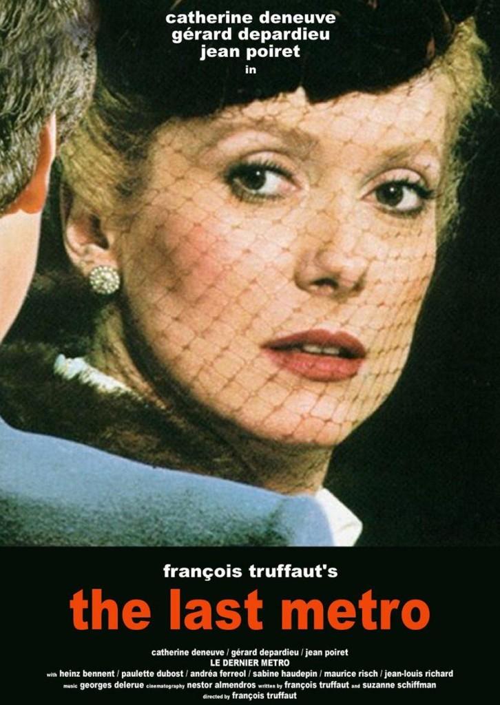 Последнее метро / Le dernier metro (1980): постер