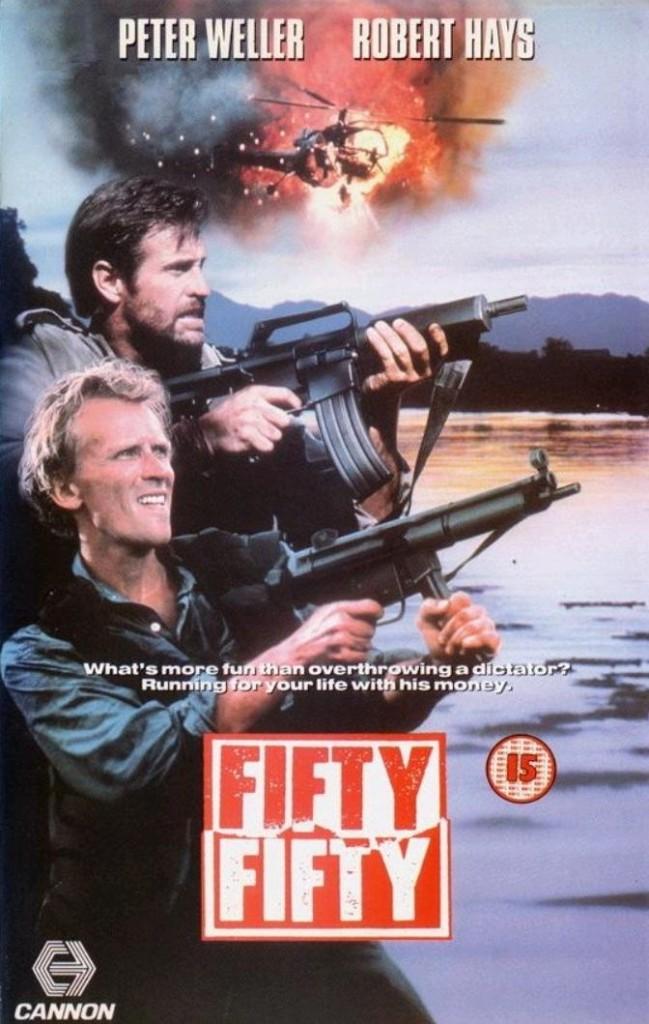 Пятьдесят на пятьдесят / Fifty/Fifty (1992): постер