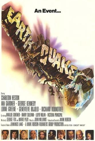 Землетрясение / Earthquake (1974): постер