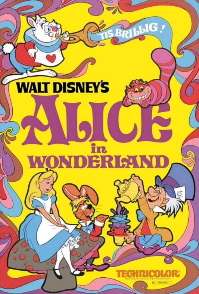 Алиса в Стране чудес / Alice in Wonderland (1951): постер